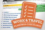 zur Work and Travel Checkliste